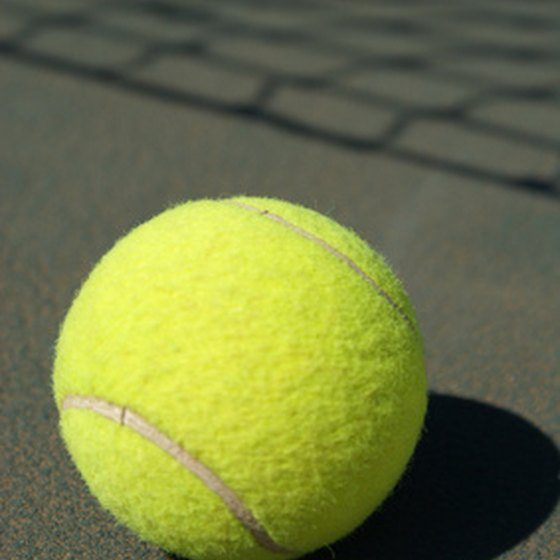 Enjoy a game of tennis at Treasure Island parks.