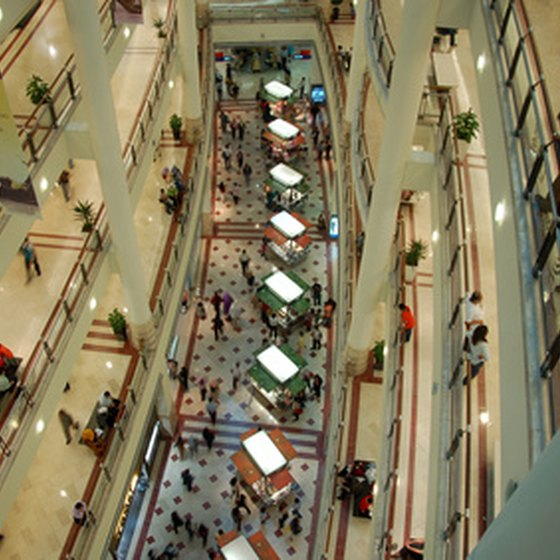 Sawgrass Mills has several shopping centers.