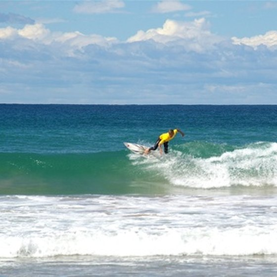 Wrightsville Beach is a premier East Coast surfing spot.
