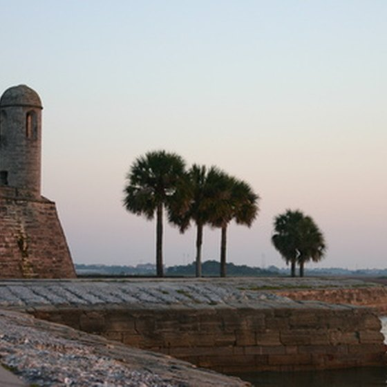 The Castillo de San Marcos in St. Augustine