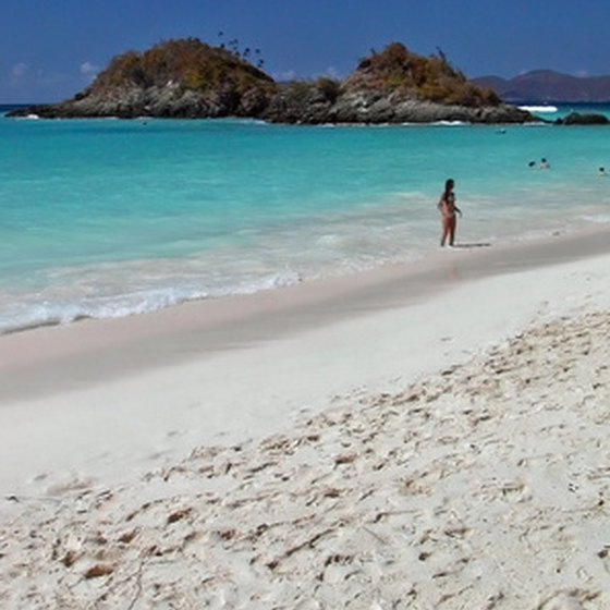 St. John is the smallest of the Virgin Islands, but some say it is the most beautiful.