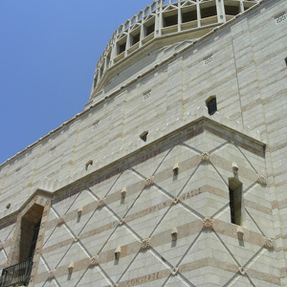 Visit the Church of Annunciation in Nazareth on a tour around Israel.
