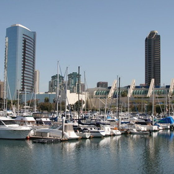 San Diego is a prime tourist destination.