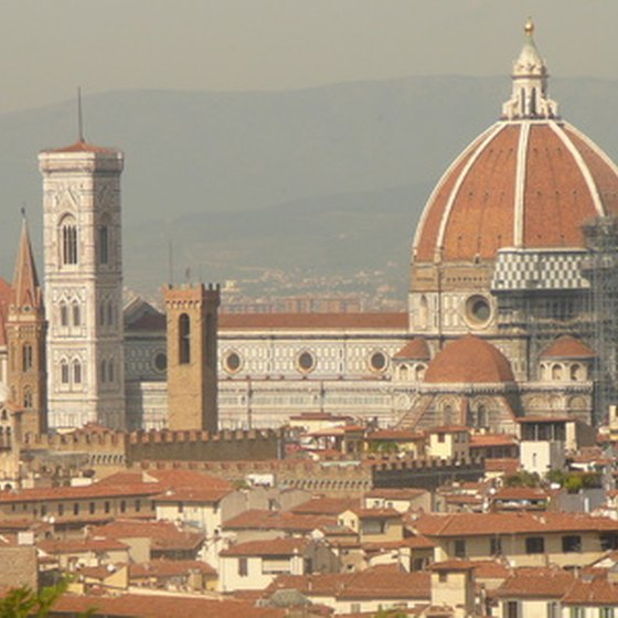 The Cathedral of Florence is a major visitor attraction.