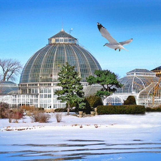 Marysville, Ohio, is just a short drive from Columbus and the Franklin Park Conservatory