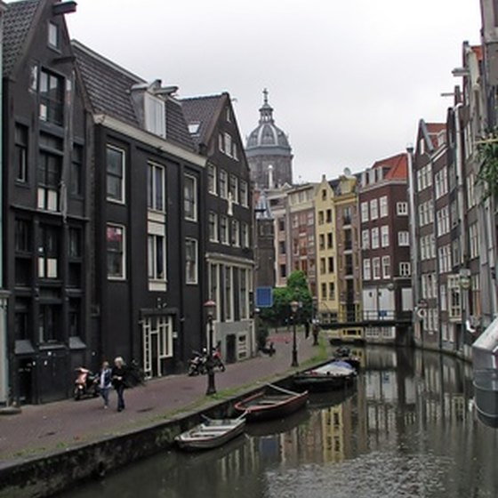 Holland's canals let you explore the cities by boat or bike.
