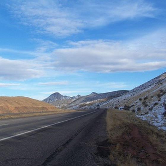 A Colorado highway