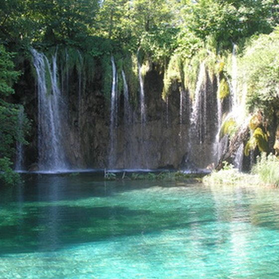 Take a stroll through a natural wonder at Plitvice Falls, Croatia.