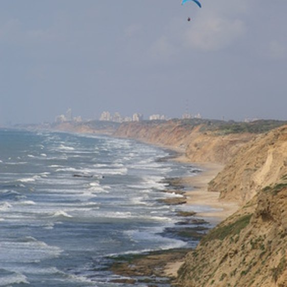 Local criminals target areas like Israel's beaches.
