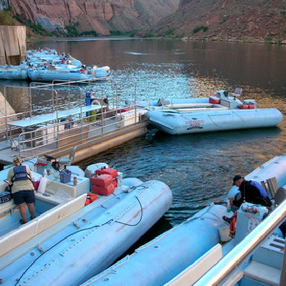 White-water rafting on the Colorado River through the Grand Canyon can be an exciting adventure.