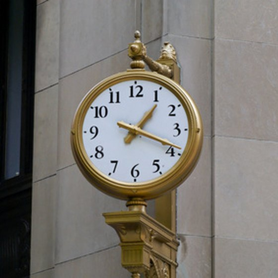 Milton Massachusetts Town Center Clock
