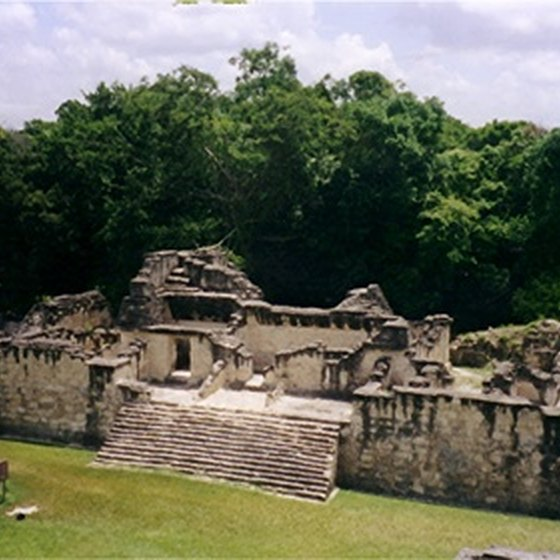 Mayan pyramids are a major tourist draw in Guatemala and Honduras.