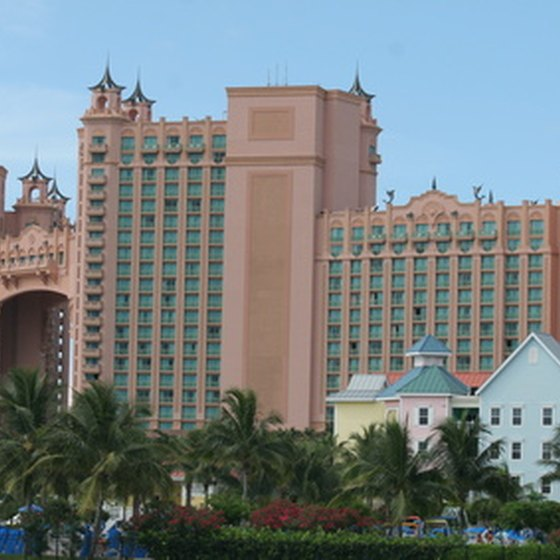 The famed Atlantis Resort and Casino is a Nassau hotspot.