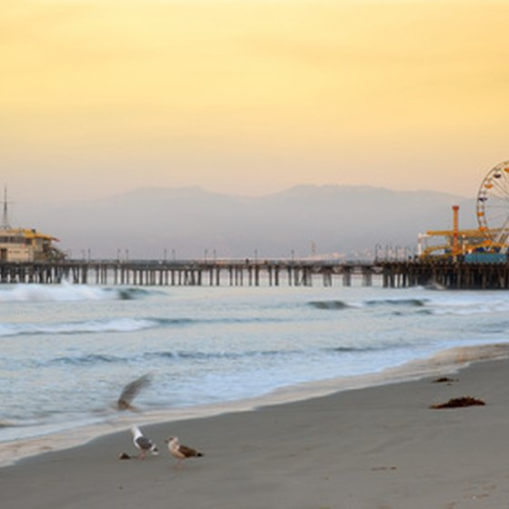 The Santa Monica Beach Pier is just one of the prime outdoor spots in Los Angeles.