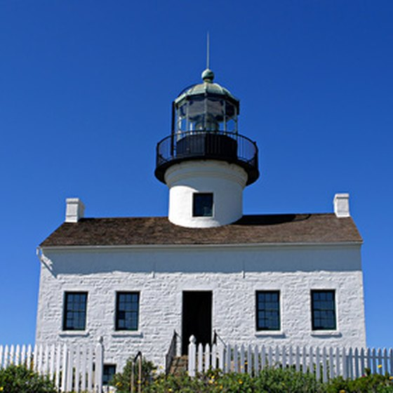 The Old Point Loma Lighthouse stood watch over the entrance to San Diego Bay for 36 years.