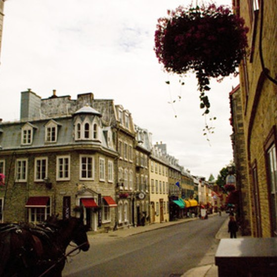 Quebec City radiates an Old World charm.
