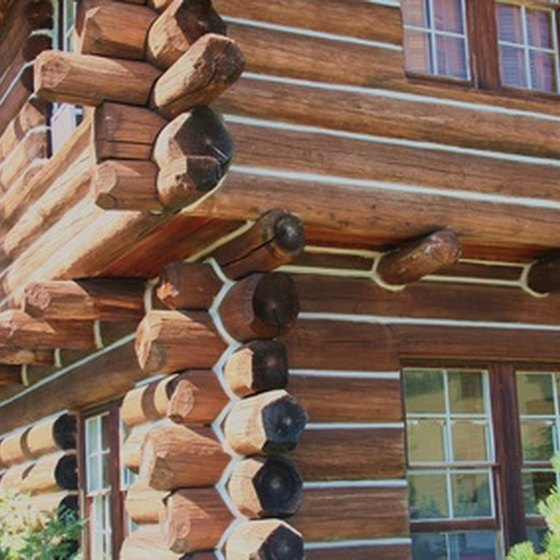 Skip the hotel and opt for a cabin.