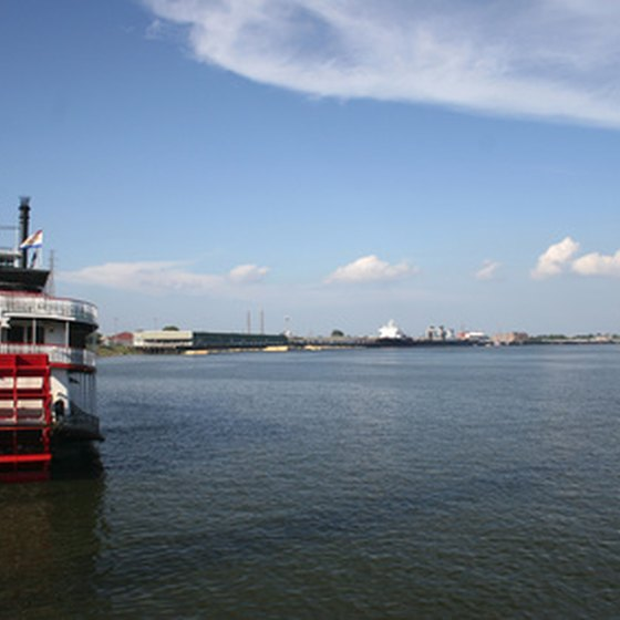 Cruises from New Orleans sail the mighty Mississippi River.