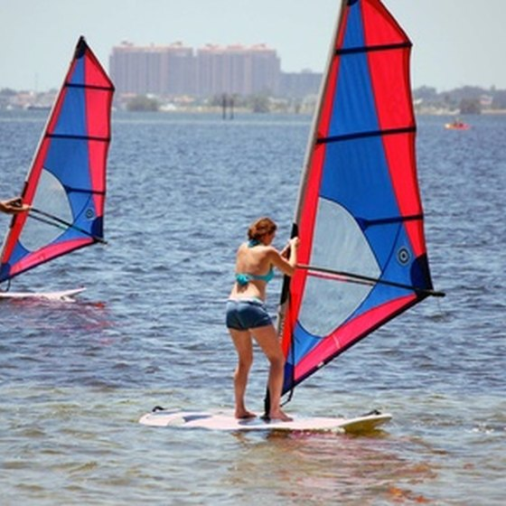 The islands of southwestern Florida provide ample opportunities to enjoy the water as a couple.