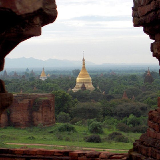 Ancient Temples at Bagan, Myanmar.