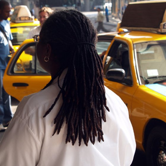 Many travelers take New York City cabs from JFK International Airport.