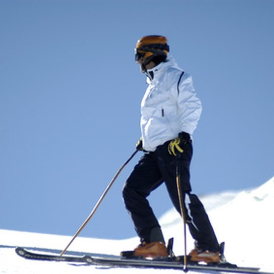 Holiday ski vacations are popular in Europe.
