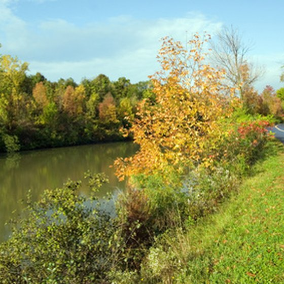 The Erie Canal crosses through the town of Verona.