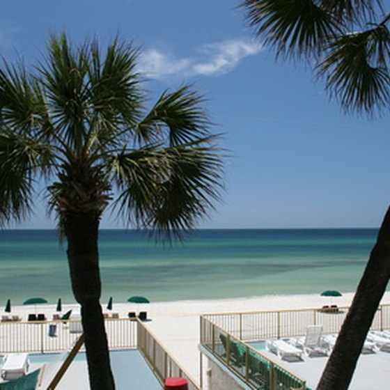 Panama City Beach is a popular tourist spot with sugar white sand beaches and emerald gulf waters.