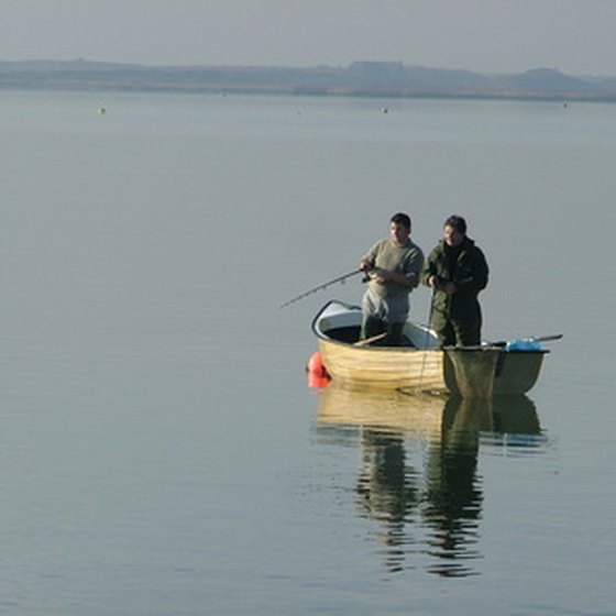 Black Lake is a popular freshwater fishing spot.