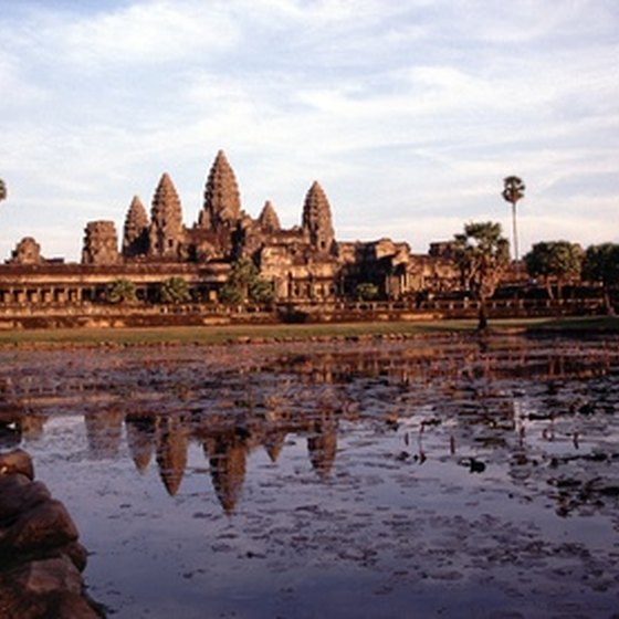 Angkor Wat is one of the world's greatest religious ruins.