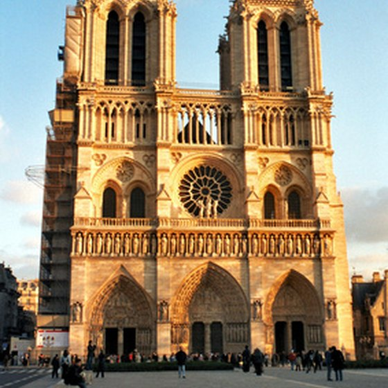 The historic Notre Dame de Paris draws thousands of visitors annually.