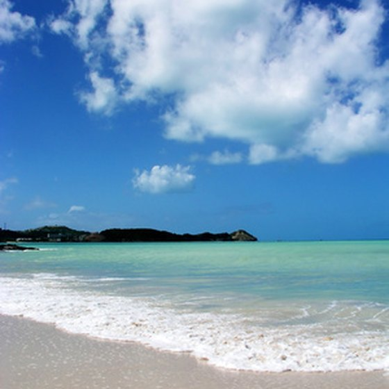 The Caribbean is famous for its white sandy beaches. and clear water.