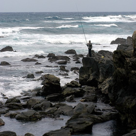 Mendocino offers RV campers great fishing spots along the coast.