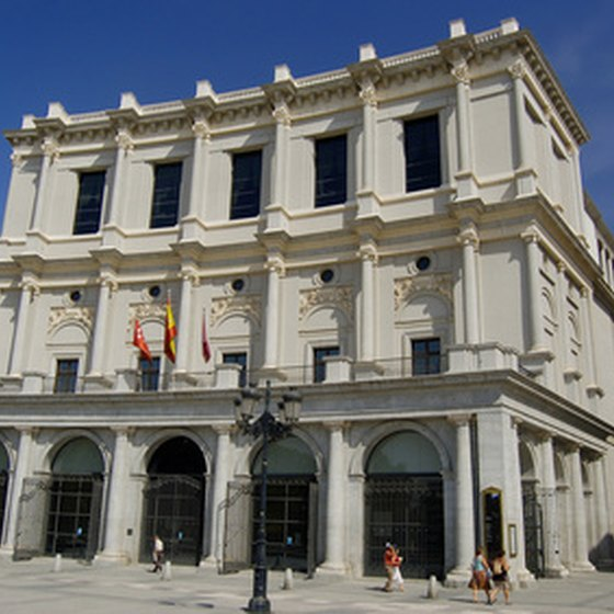 Madrid's Teatro Real was built in 1850 and is one of Spain's most famous opera venues.