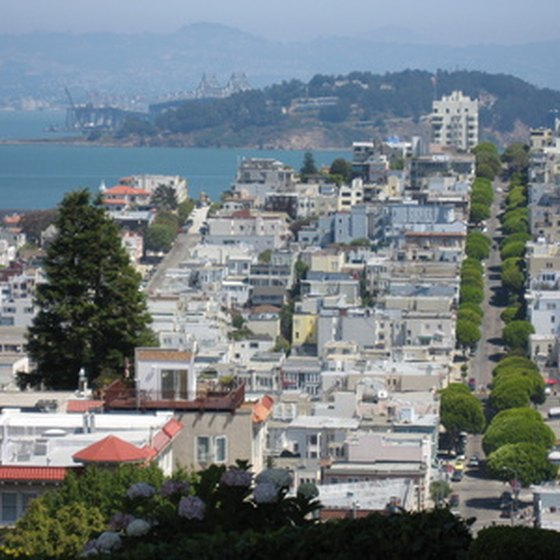 San Francisco is the gateway to the California wine country.