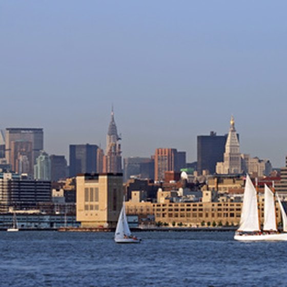 View of Manhattan skyline