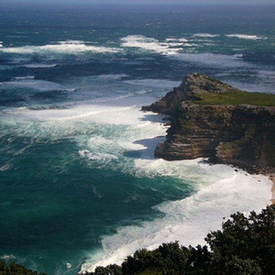The Cape of Good Hope is one of Africa's most southerly points.