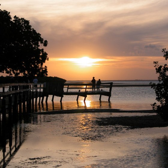 Sunsets in Key West are celebrated every evening with outdoor entertainment.