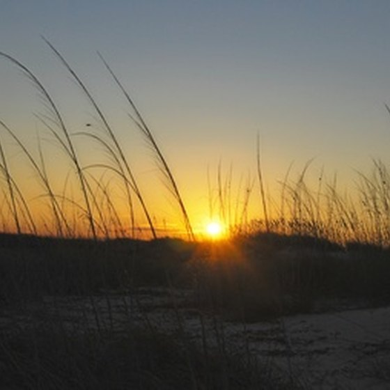 The pristine beaches of Gulf Shores Alabama can be a camping paradise.