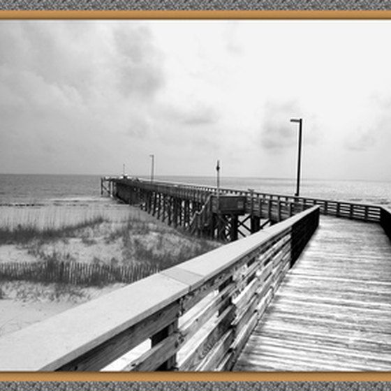 The Panama City boardwalk is one of the Florida panhandle resort town's signature landmarks.
