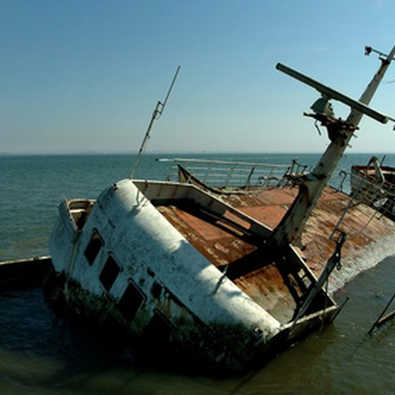 A popular tourist attraction in the area of Stuart is the Valentine Shipwreck Site.