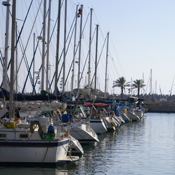 Boating and water activities abound at the Channel Islands Harbor in Oxnard