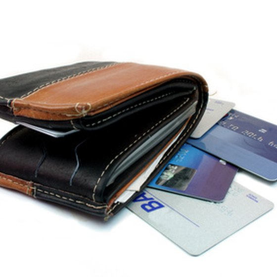 Only bring the credit cards you need when traveling.