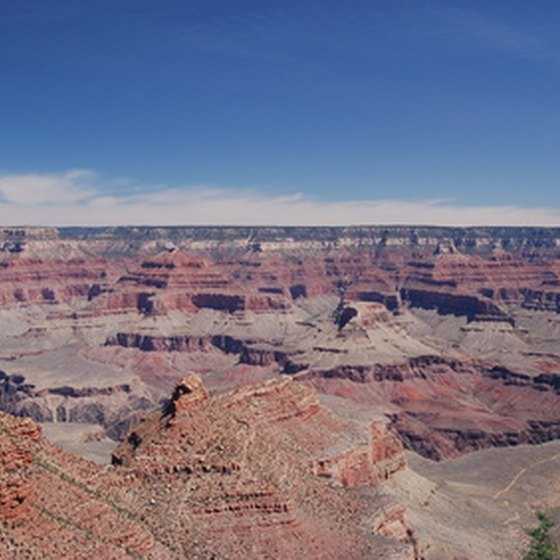 Enjoy breathtaking views and luxury accommodations at the Grand Canyon.