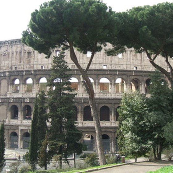 Rome's Colosseum is one of the country's most famous sights.