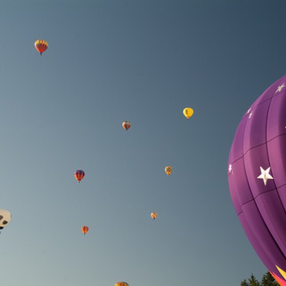 Each year Albuquerque, New Mexico, hosts the International Balloon Fiesta.