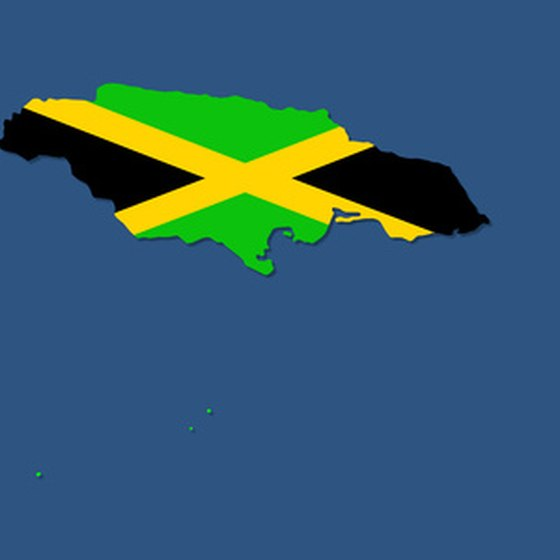 The island nation of Jamaica