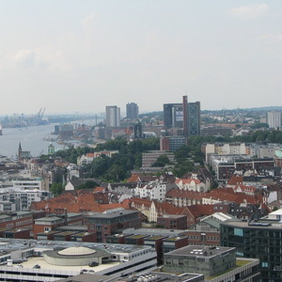 Transatlantic cruises calling on Hamburg typically arrive from New York City between May and October.