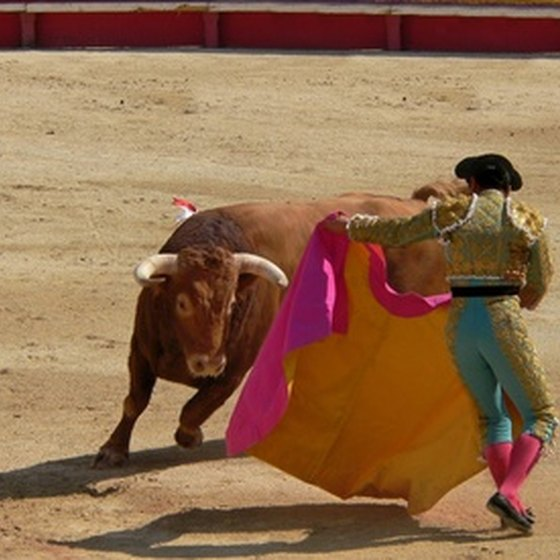 Bullfighting is one of Spain's many traditions.
