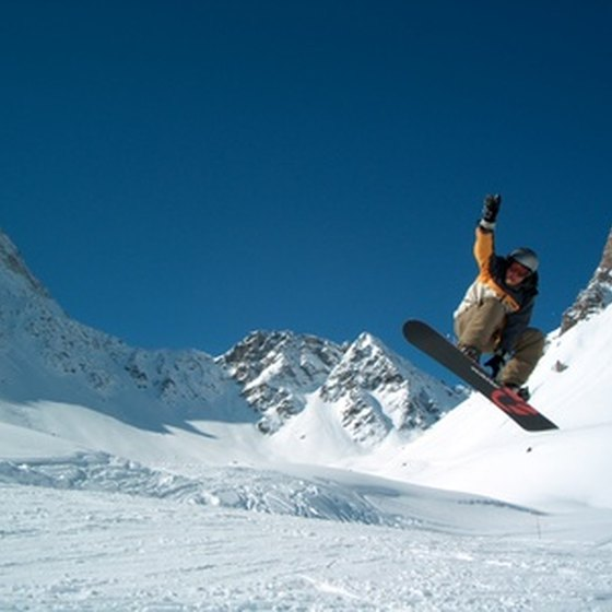Vermont, New York and Maine all have snowboarding resorts.